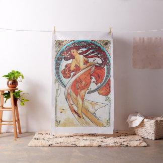 Tecido Pintura de Nouveau da arte do vintage da dança de