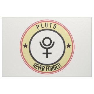 Tecido Pluto, nunca esquece