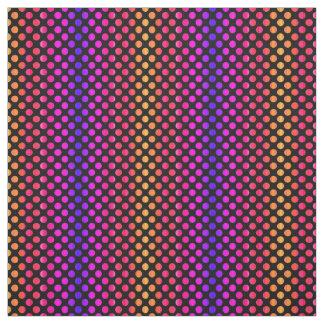 Tecido pontos da Multi-cor