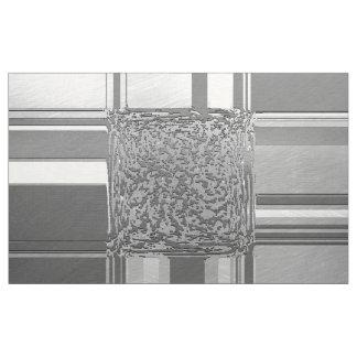 Tecido prata 03 da arte do metal