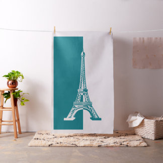 Tecido Presentes legal da torre Eiffel | do Aqua