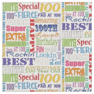 Tecido Presentes originais e do Special 100th da festa de