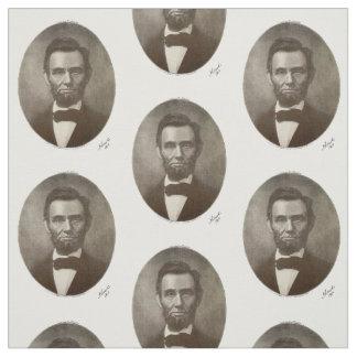 Tecido Presidente republicano americano de Abe Abraham