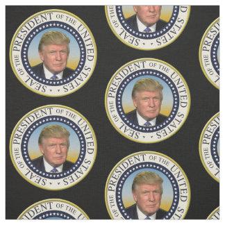 Tecido Presidente Trunfo Foto Presidencial Selo
