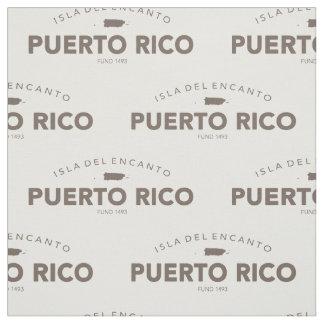 Tecido Puerto Rico, Isla del Encanto