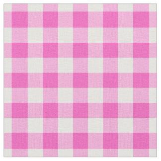 """Tecido Quadrados do guingão 1/2 cor-de-rosa"""""""