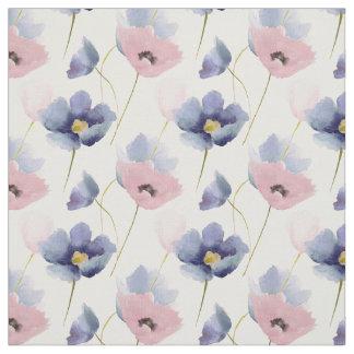 Tecido Quartzo cor-de-rosa & teste padrão floral da