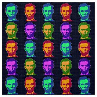 Tecido Quatro pop art Abraham Lincolns