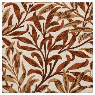 Tecido Ramo, Brown e bege do salgueiro de William Morris