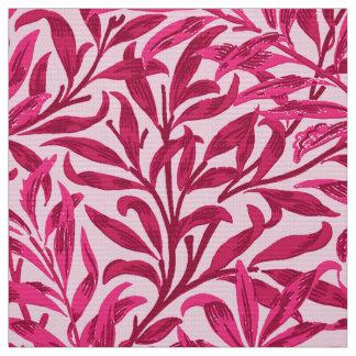 Tecido Ramo do salgueiro de William Morris, rosa do