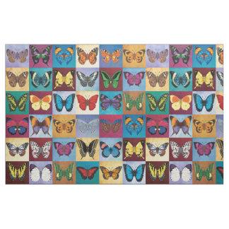 Tecido Retalhos da borboleta