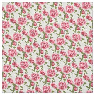 Tecido Rosas Tecido-Cor-de-rosa feitos sob encomenda