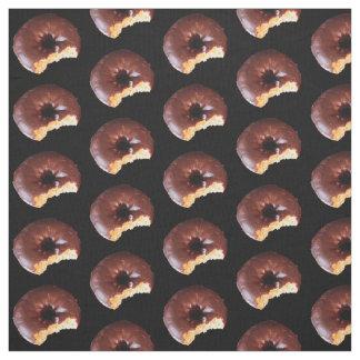 Tecido Rosquinhas do bolo amarelo do fosco do chocolate