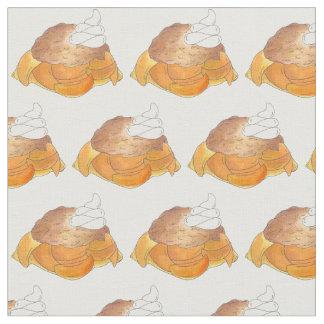 Tecido Sobremesa do sul Foodie do sapateiro de pêssego de
