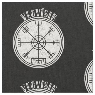 Tecido Stave islandês do compasso de VEGVISIR