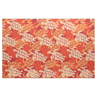 Tecido Tapa havaiano da tartaruga de mar de Honu -