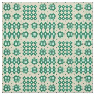 Tecido Tapeçaria do falso de Galês verde escuro no teste