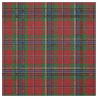 Tecido Tartan MacLean moderno escocês de Maclean de Duart