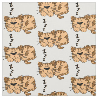 Tecido _tecido gato que dormir