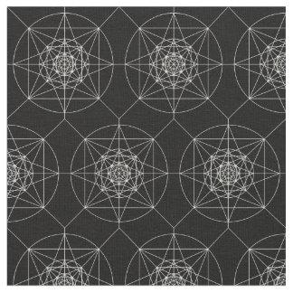 Tecido Terceira geometria sagrado dimensional