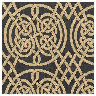 """Tecido Teste padrão celta de """"Durrow"""" do nó"""