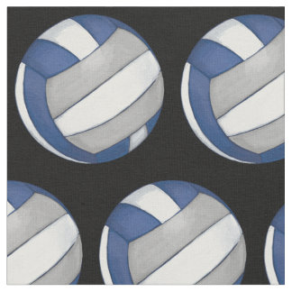 Tecido Teste padrão com voleibol de prata pintado