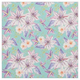 Tecido Teste padrão de flor dos lírios - teste padrão