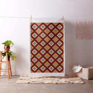 Tecido Teste padrão decorativo da arte popular romena