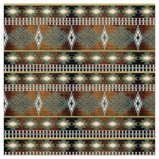 Tecido teste padrão étnico do sudoeste do navajo