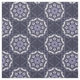 Tecido teste padrão floral do damasco