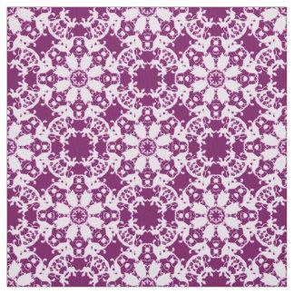 Tecido teste padrão floral do victorian
