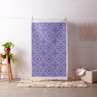 Tecido Teste padrão no azul-chinoiserie do estilo