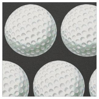 Tecido Teste padrão pintado da bola de golfe