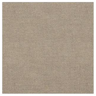 Tecido Teste padrão rústico da textura das canvas de