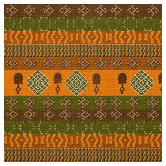 Tecido teste padrão tribal africano étnico