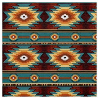 Tecido Teste padrão tribal do navajo do sudoeste