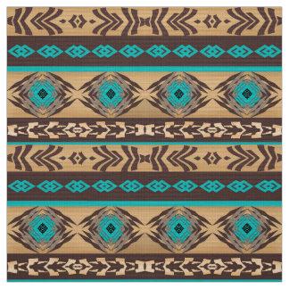 Tecido Teste padrão tribal étnico do navajo do sudoeste