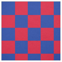 Teste padrão vermelho e azul do tabuleiro de damas