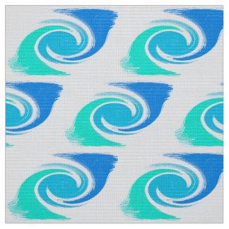 Tecido textura abstrata do redemoinho dos cursos da