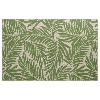 Tecido Textura de linho havaiana das palmas de Kahanu