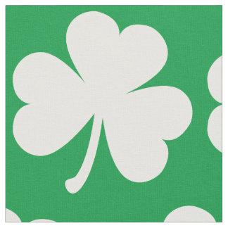 Tecido Trevo irlandês customizável