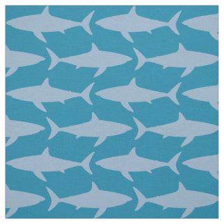 Tecido Um arrepio dos tubarões