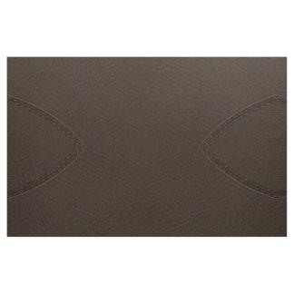 Tecido Upholstery de couro do falso de Brown