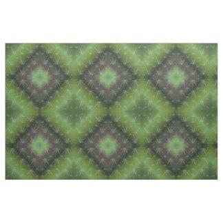 tecido verde de prata da folha, matéria têxtil