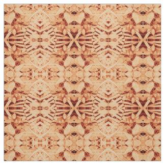 tecido vermelho da coroa do batik