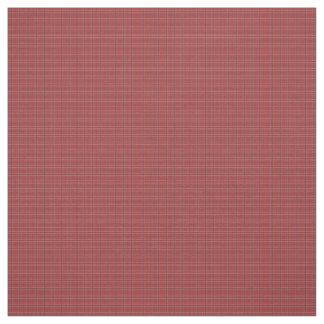 Tecido vermelho do teste padrão da xadrez