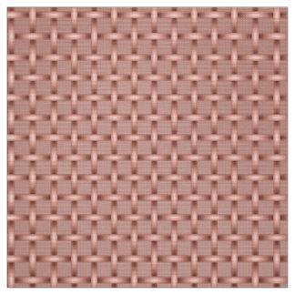 Tecido Weave cor-de-rosa ID125 do Shimmer do ouro