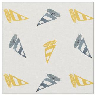 Tecido Windsurfing Pastel azul amarelo legal do