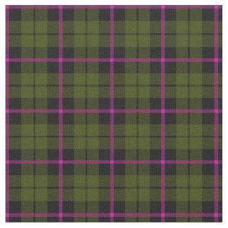 Tecido xadrez print2 da listra do rosa do verde do