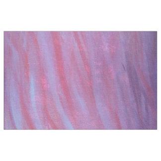 Tecido Zebra ondulada roxa cor-de-rosa feminino